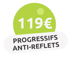 Progressifs anti-reflets